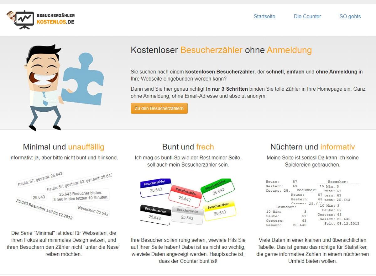 Besucherzähler kostenlos.de