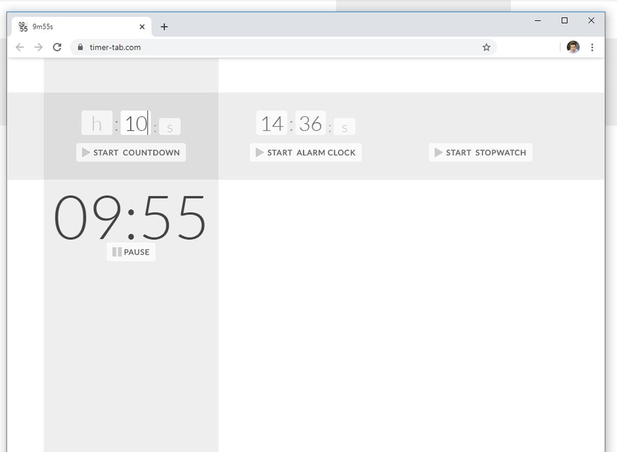 Timer Tab Online Timer